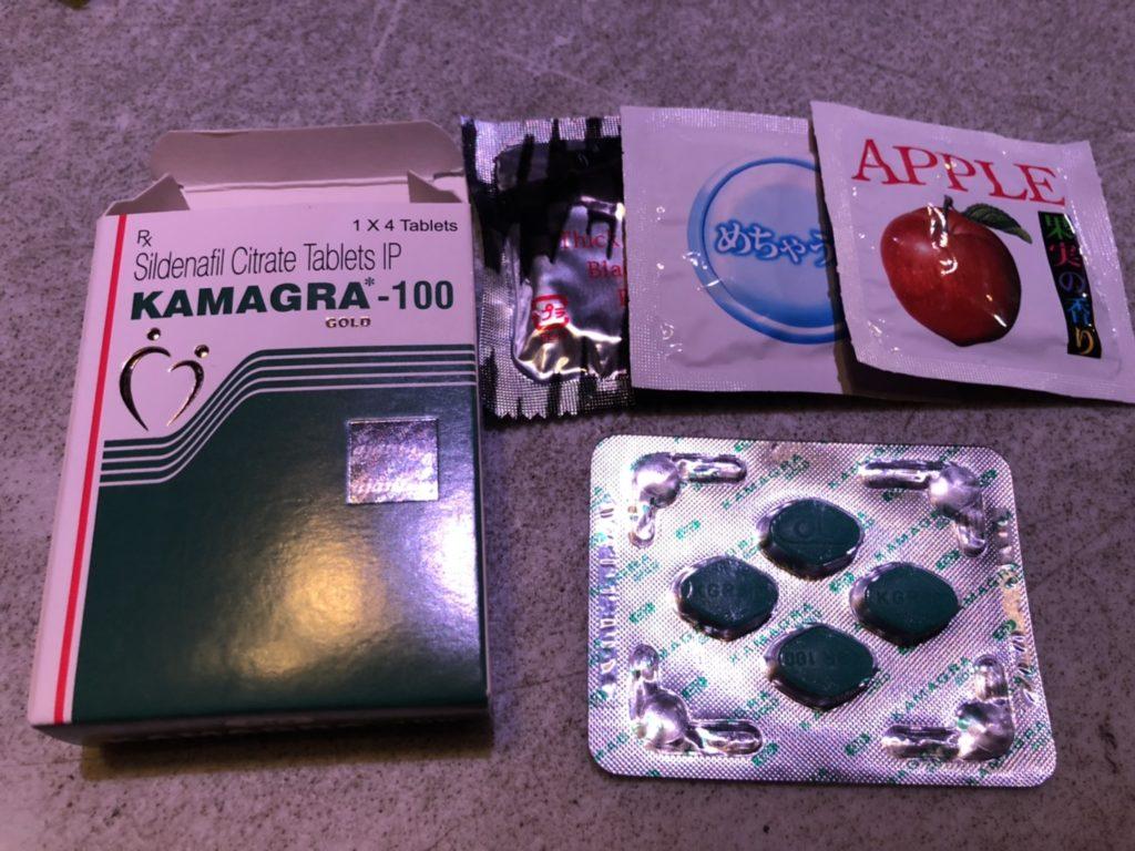 各種男性用避妊具とKAMAGRA