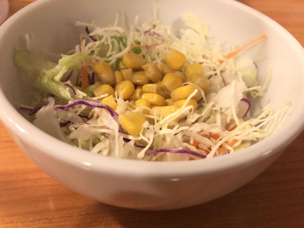 チカラめしのサラダ